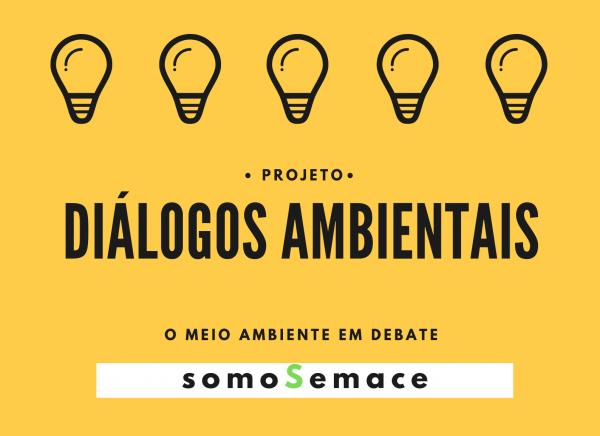 Cartaz do projeto Diálogos Ambientais