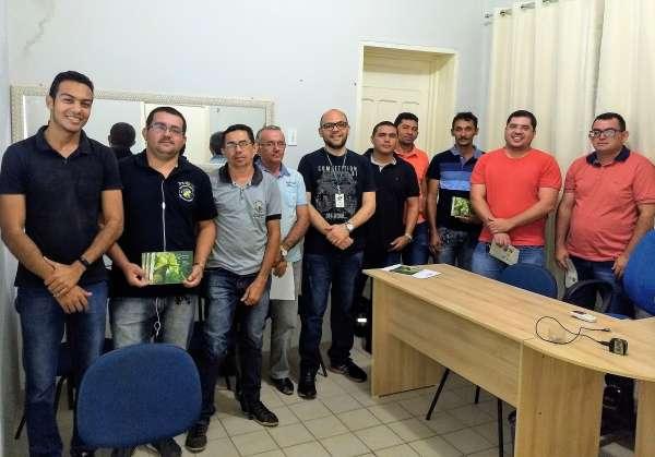 Turma treinada no Sinaflor Itinerante no mês de julho